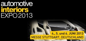Automotive Interiors Expo 2013